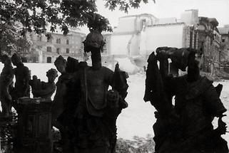 Das zerstörte Palais Schönburg