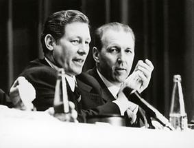 Josef Krainer und Erwin Wenzl
