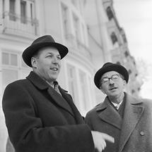 Erwin Wenzl (links) bei einer ÖVP-Tagung