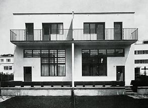 Einfamilien-Doppelhaus von Adolf Loos