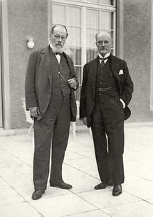 Richard Wettstein bei der Kaiser-Wilhelm-Gesellschaft