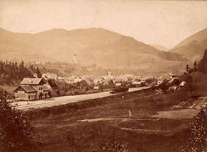 Stadtansicht von Weyer