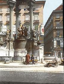 Der Vermählungsbrunnen am Hohen Markt