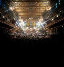 Der Goldene Saal des Musikvereinsgebäudes