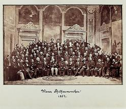 Erstes Photo der Wiener Philharmoniker