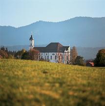 Wallfahrtskirche, Wies in Oberbayern