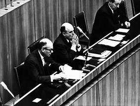 Withalm, Klaus und Koren im Nationalrat