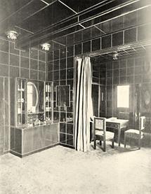 Speise- und Wohnzimmer im Jagdhaus Wittgenstein