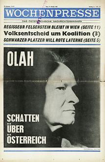 Titelseite der Wochenpresse