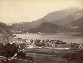 Blick auf St. Gilgen am Wolfgangsee
