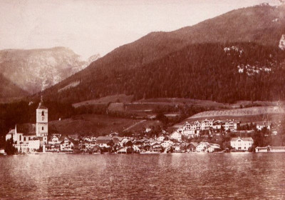 Stadtansicht St. Wolfgang in Oberösterreich, © IMAGNO/Austrian Archives