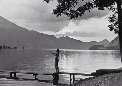 Badesteg am Wolfgangsee, © IMAGNO/Austrian Archives