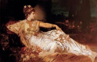 Carlotte Wolter als Messalina
