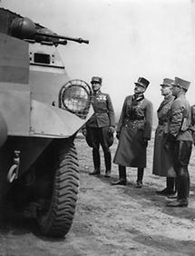 General Wilhelm Zehner und General Röder