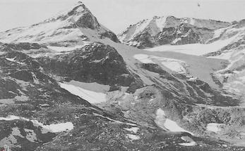 Blick von der Rudolfshütte auf die Hohen Tauern