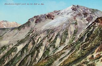 Der Hundstein-Gipfel