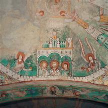 Romanische Fresken im Dom zu Gurk