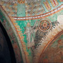 Romanische Fresken in der Stiftskirche