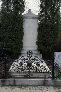Grabmal am Wiener Zentralfriedhof