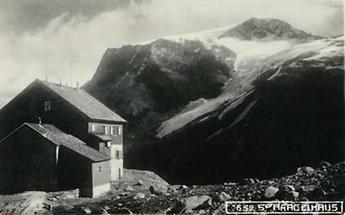 Spannagelhaus am Tuxer Kamm der Zillertaler Alpen