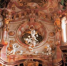 Engelfiguren in der Klosterkirche