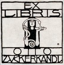 Exlibris Otto Zuckerkandl
