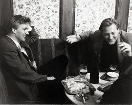 Oskar Werner im Cafe Hawelka