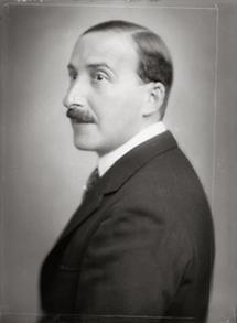 Der österreichische Schriftsteller Stefan Zweig