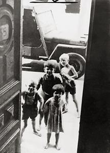 Kinder nach Ende des Krieges