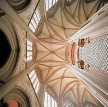 Gewölbe der Stiftskirche