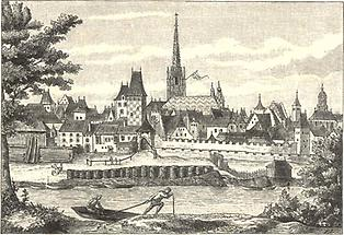 Wien 1485 Rotenturmseite