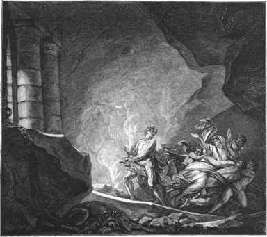 Illustration Orpheus und Eurydike