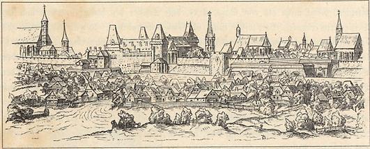 Wien 1558 von Burgseite