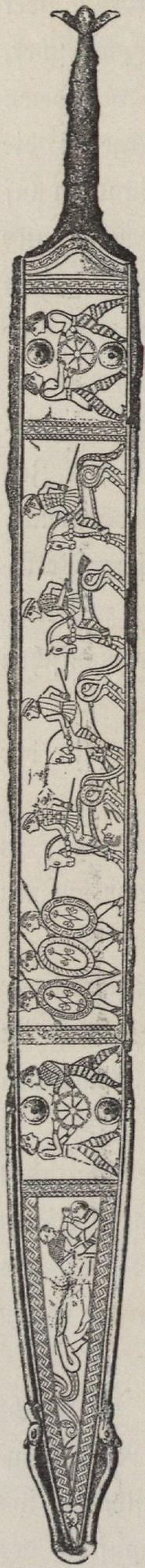 Bronzeschwert Hallstatt