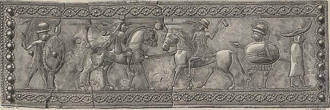 Bronzegürtelblech Watsch