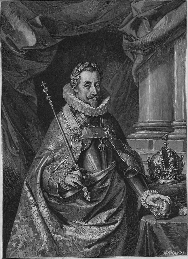 Illustration Kaiser Ferdinand II.