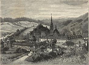 Heiligenkreuz mit Kloster