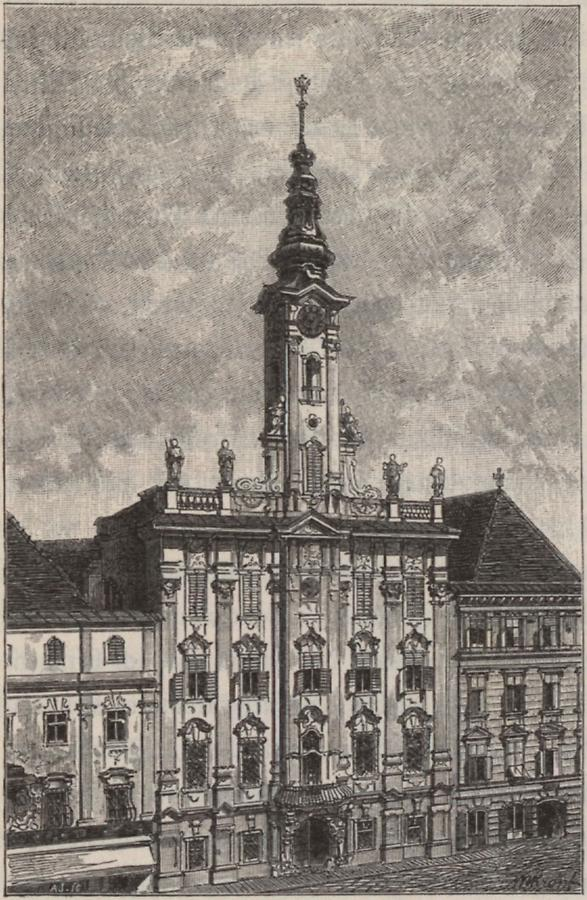 Illustration Rathaus Steyr