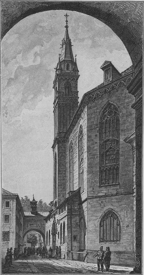 Illustration Frankiskanerkirche