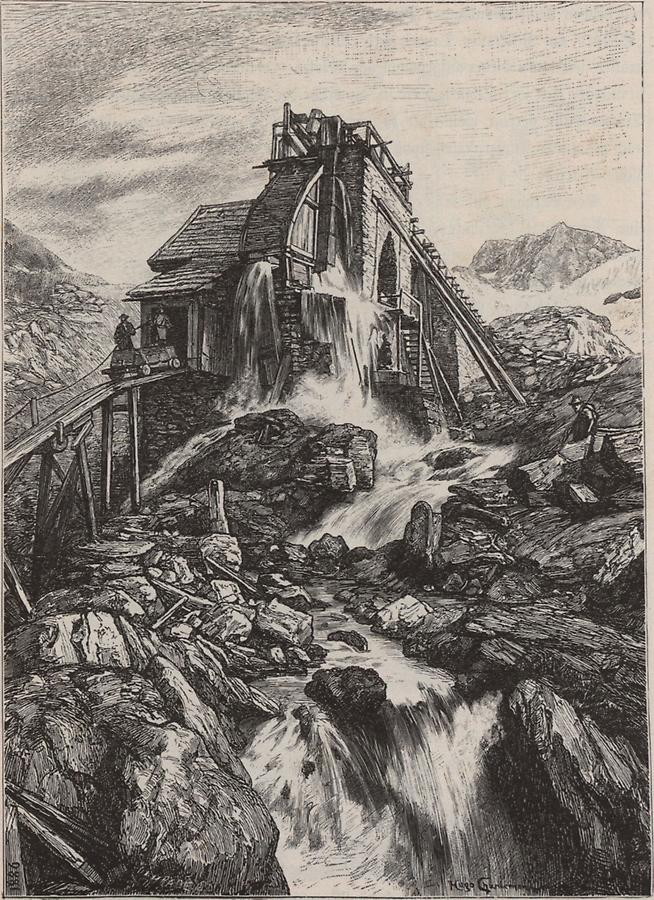 Illustration Rauriser Bergwerk