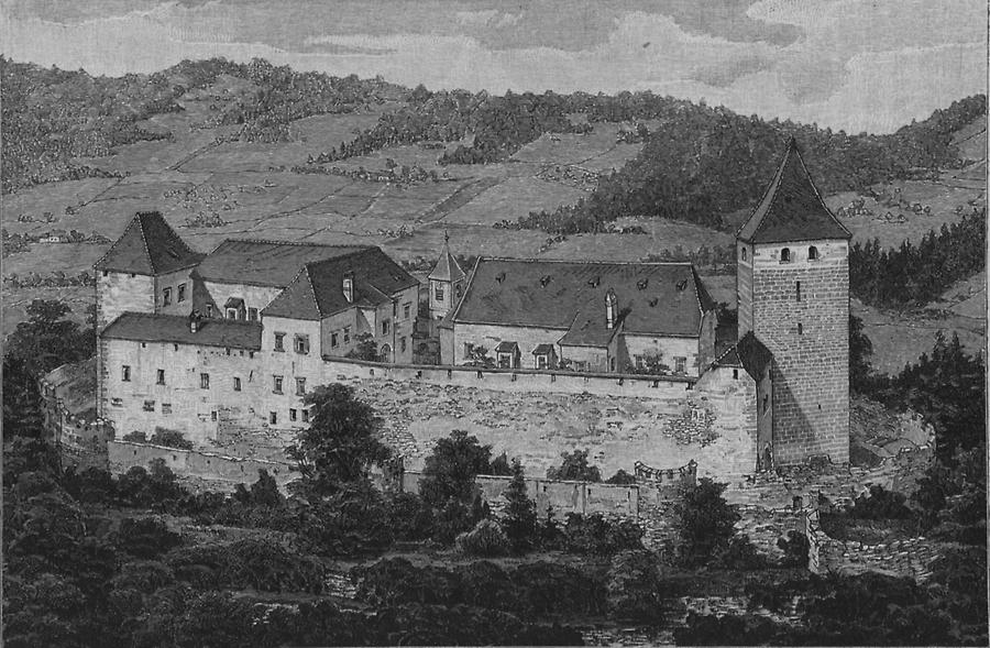 Illustration Thalberg bei Hartberg