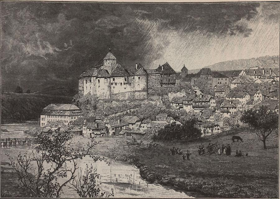 Illustration Burg Seisenberg