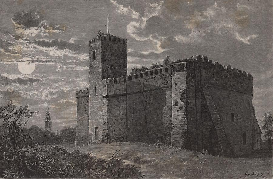 Illustration Burg von Gyula