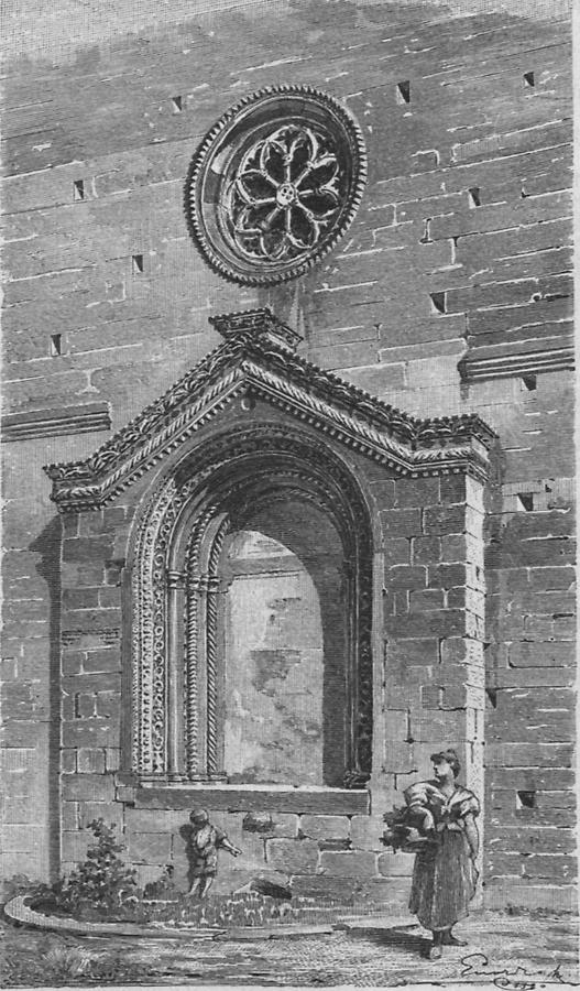 Illustration Portal Kirche San Francesco in Pola