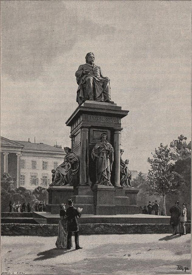 Illustration Denkmal Franz Deaks