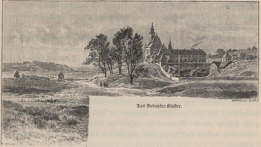 Illustration Besnyöer Kloster