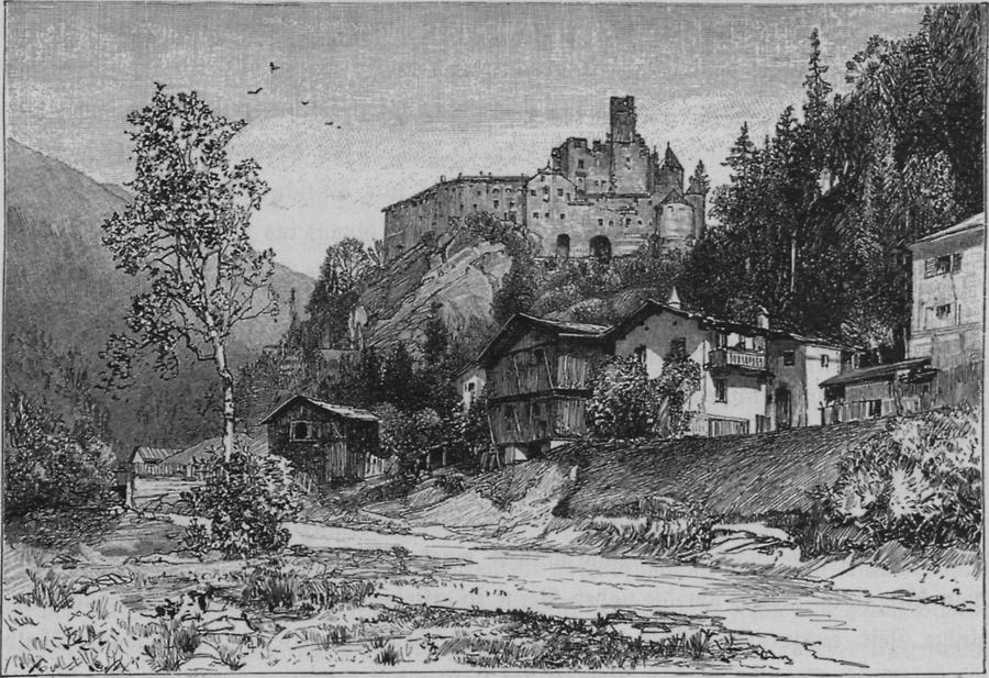 Illustration Schloss Taufers