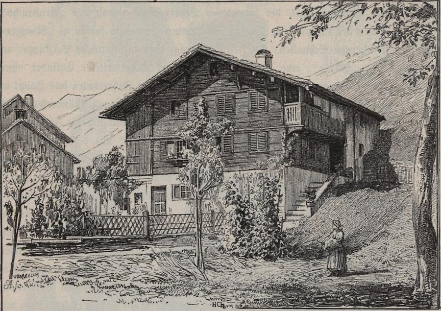 Illustration Montafoner Haus
