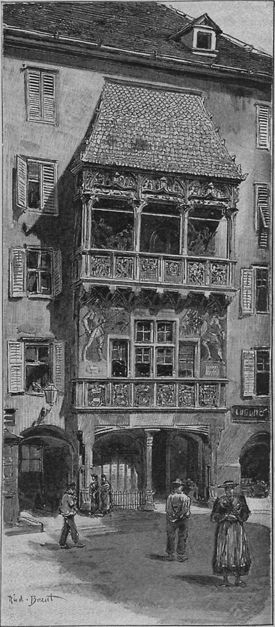 Illustration Goldenes Dachl