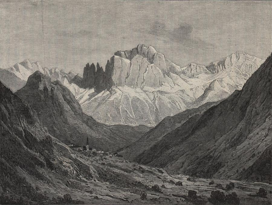 Illustration Rosengarten
